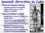 spanish atrocities in cuba
