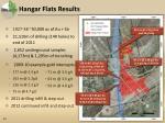 hangar flats results
