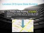 location of empire state building