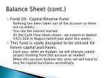 balance sheet cont1