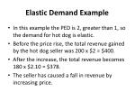 elastic demand example1