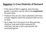 negative cross elasticity of demand