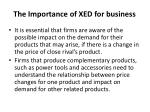 the importance of xed for business