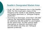 seattle s designated market area1