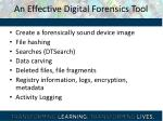 an effective digital forensics tool