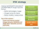 ifdc strategy