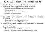 80ia 10 inter firm transactions