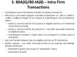 s 80a 6 80 ia 8 intra firm transactions