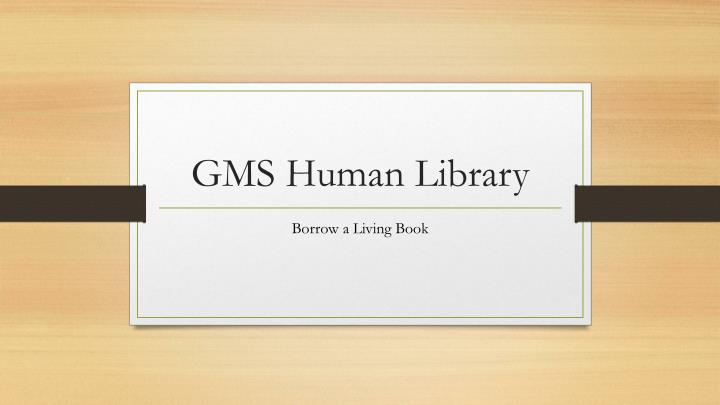 gms human library n.
