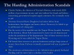 the harding administration scandals1