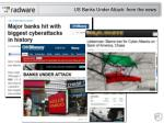 us banks under attack from the news
