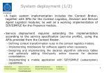 system deployment 1 2