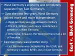 east v west germany
