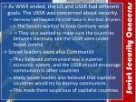 soviet security concerns