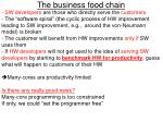 the business food chain