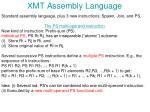 xmt assembly language