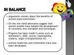 in balance1