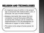 religion and technologies1