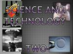 science and technology1