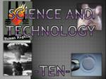 science and technology9