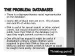 the problem databases