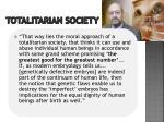 totalitarian society1