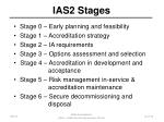ias2 stages