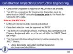 construction inspection construction engineering