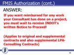 fmis authorization cont1