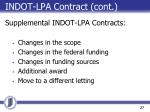 indot lpa contract cont