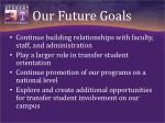 our future goals