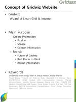 concept of gridwiz website