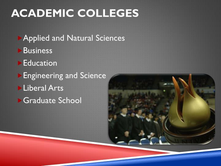 Academic Colleges