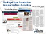 the physicians foundation communications activities3