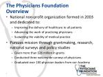 the physicians foundation overview