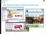 big online business from club retailers
