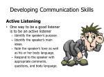 developing communication skills1