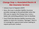 cinergy corp v associated electric gas insurance services