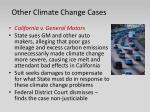 other climate change cases1