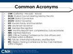 common acronyms