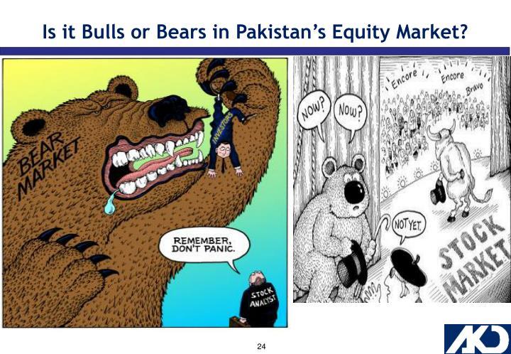 Is it Bulls or Bears in Pakistan's Equity Market?