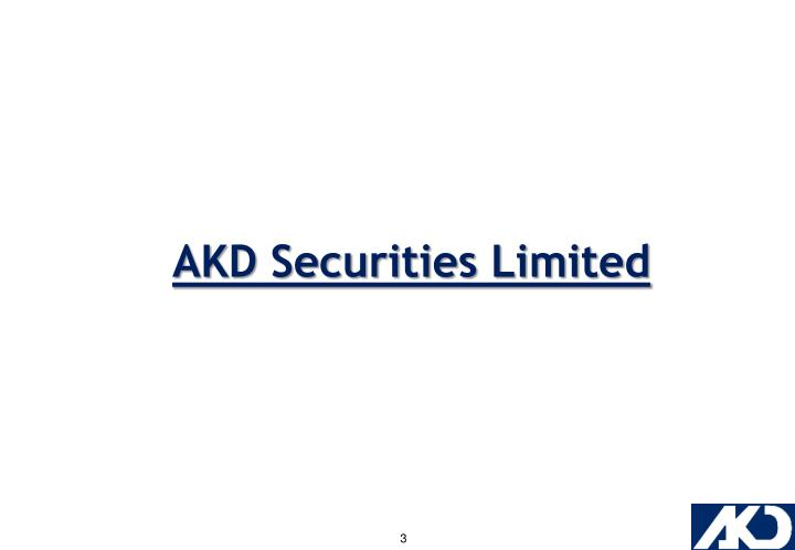 AKD Securities Limited