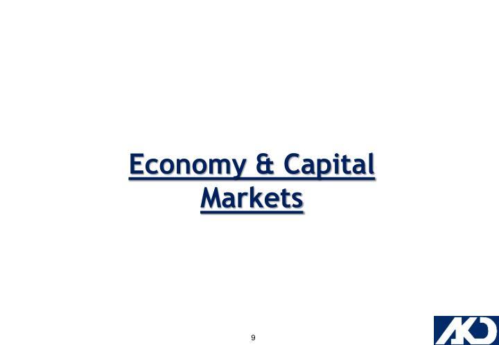 Economy & Capital Markets