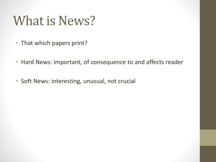 what is news n.