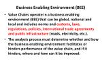 business enabling environment bee