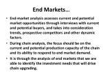 end markets1