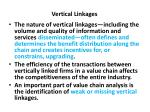 vertical linkages1