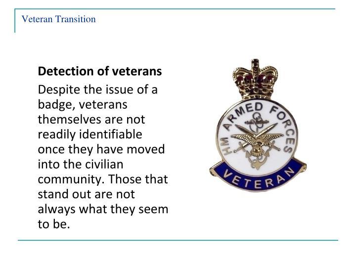 Veteran Transition