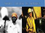 women mining in action