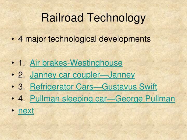 Railroad Technology